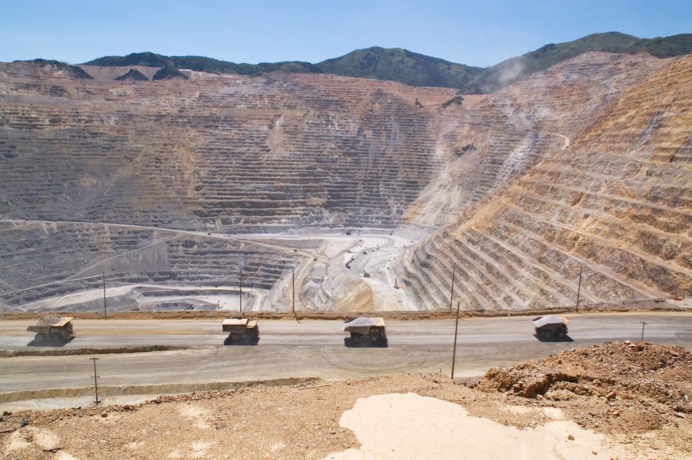 Kennecott Copper Mine, Utah