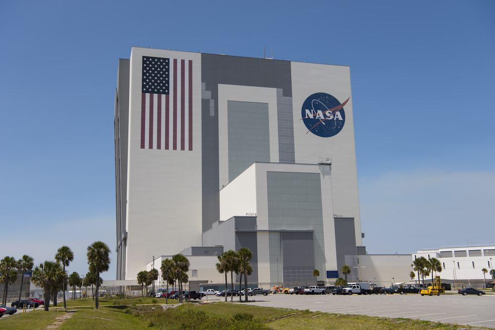 Vehicle Assembly Building at the Kennedy Space Center