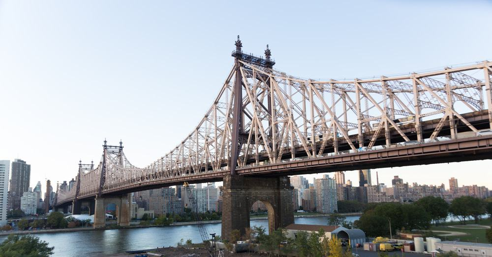 Queensboro Bridge Viewed from Queens