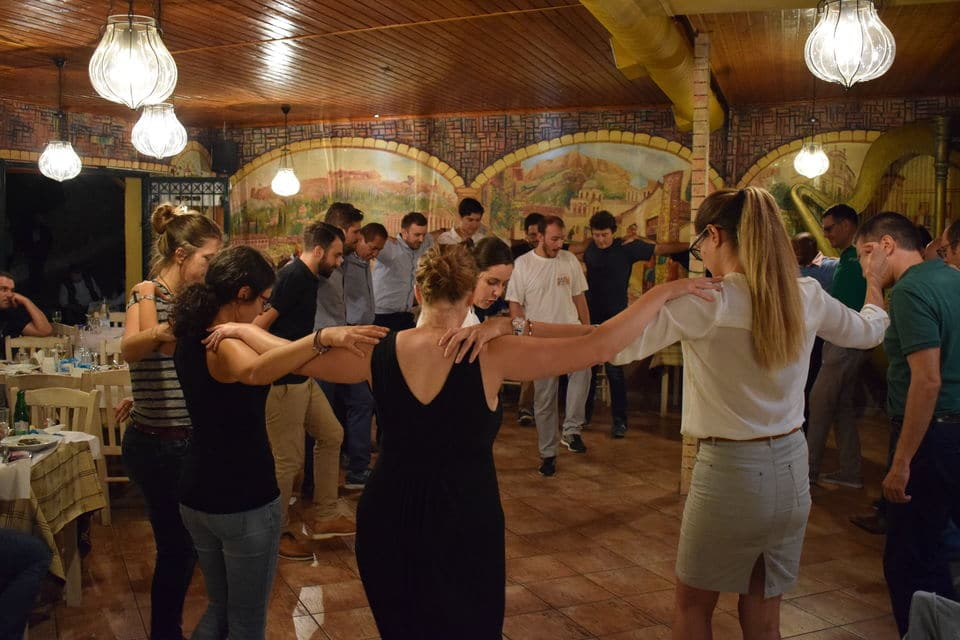 Greek Folk Dancing Lesson With Dinner & Live Music