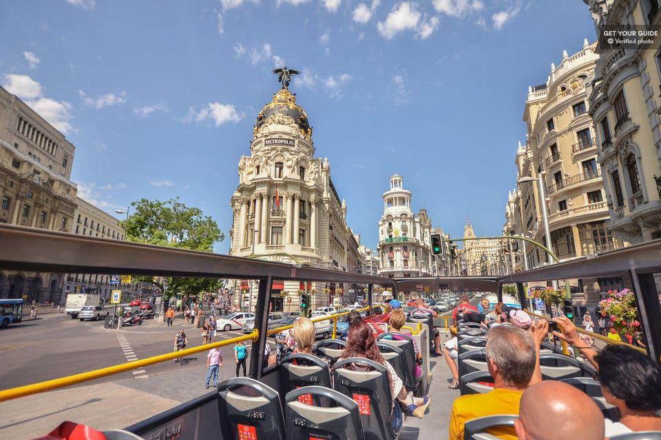Madrid Hop-On Hop-Off Bus Tour