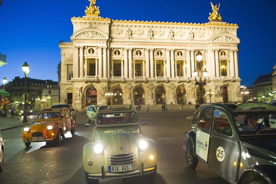 Private Guided Night Tour Of Paris By Citroën 2CV