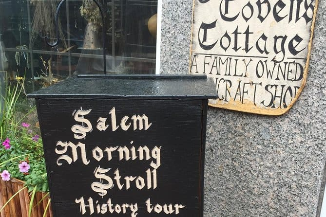 Salem History Walking Tour