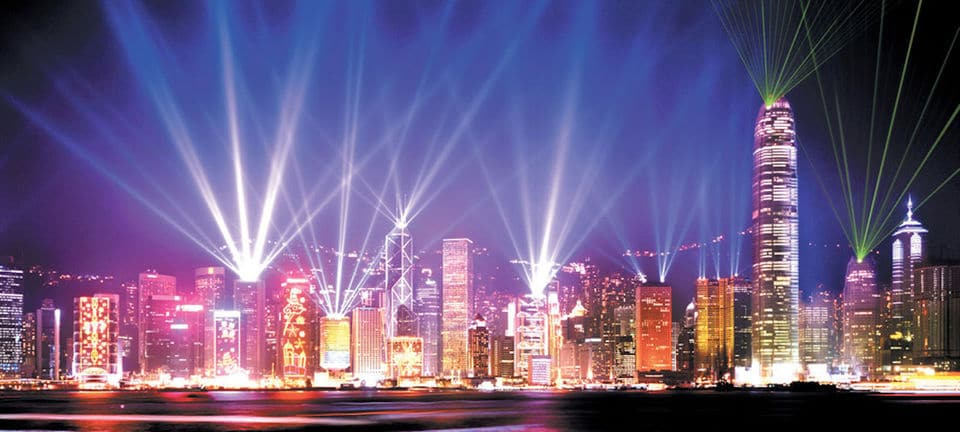 Victoria Harbour Night Or Symphony Of Lights Tour