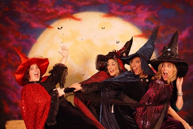 Witch Dress-Up Photo Experience