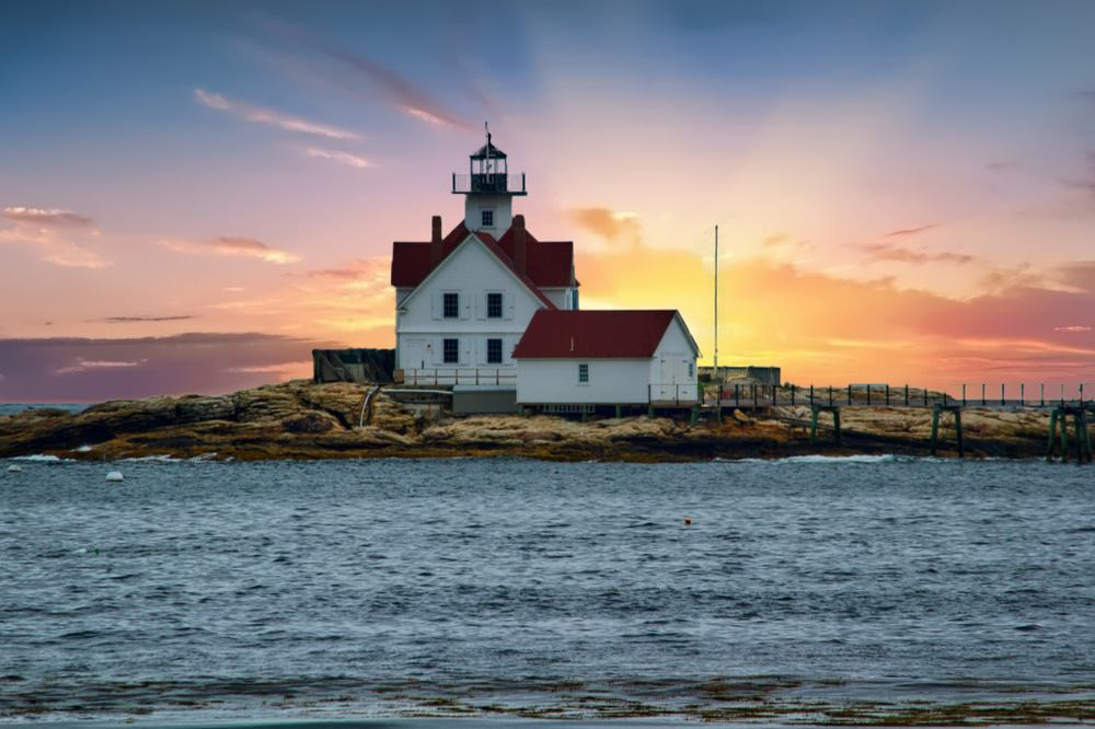 Cuckold Lighthouse, Southport, Maine