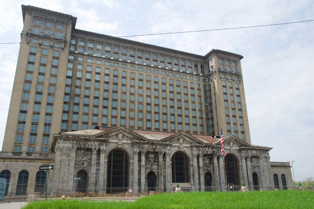 Michigan Central Station Building, Corktown, Detroit