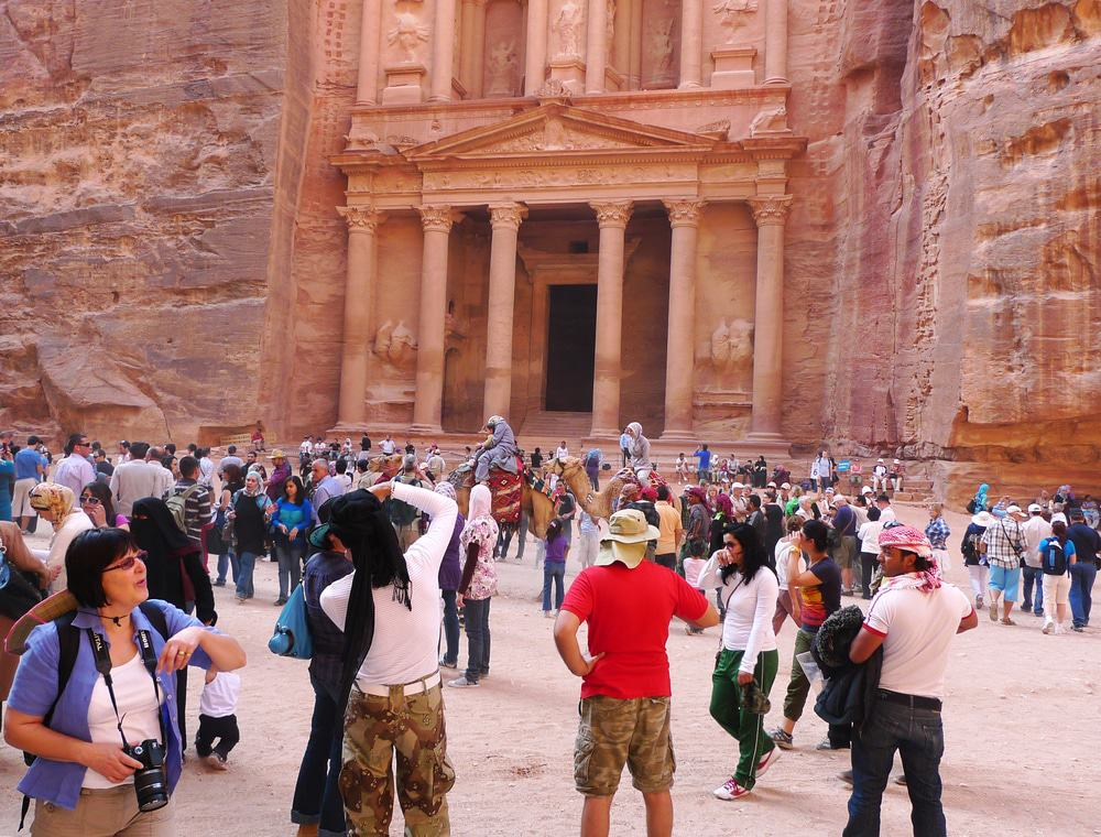 Busy Day at Petra