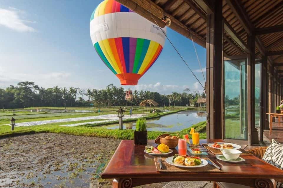 Hot Air Balloon Experience, Ubud