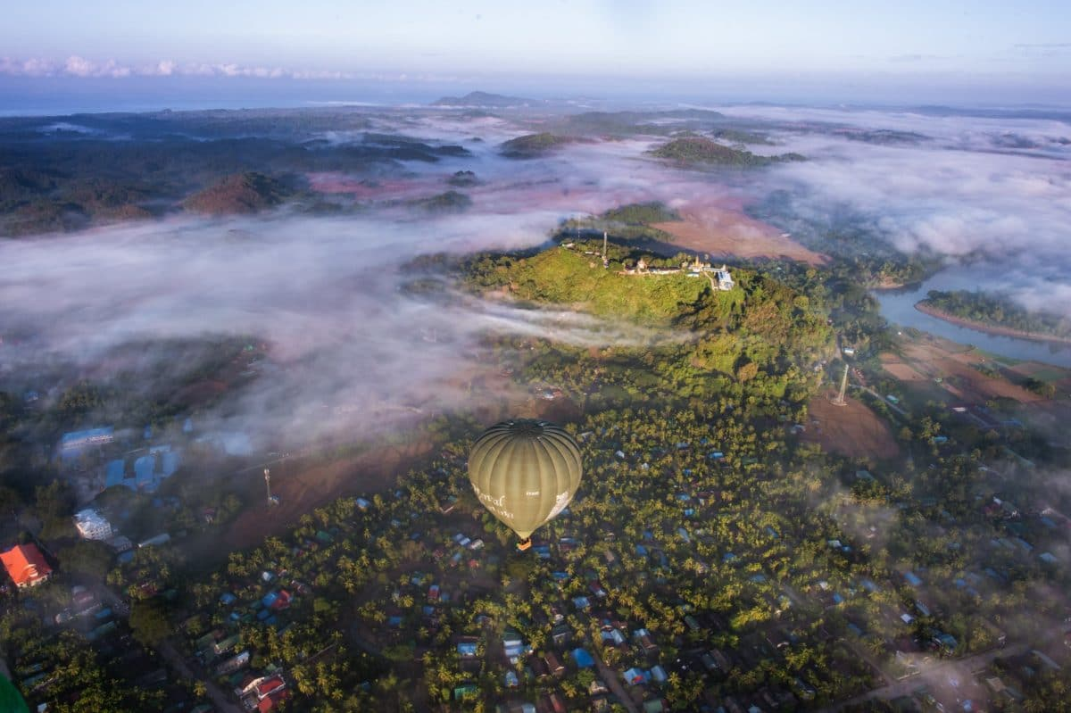 Ngapali Balloon Flight