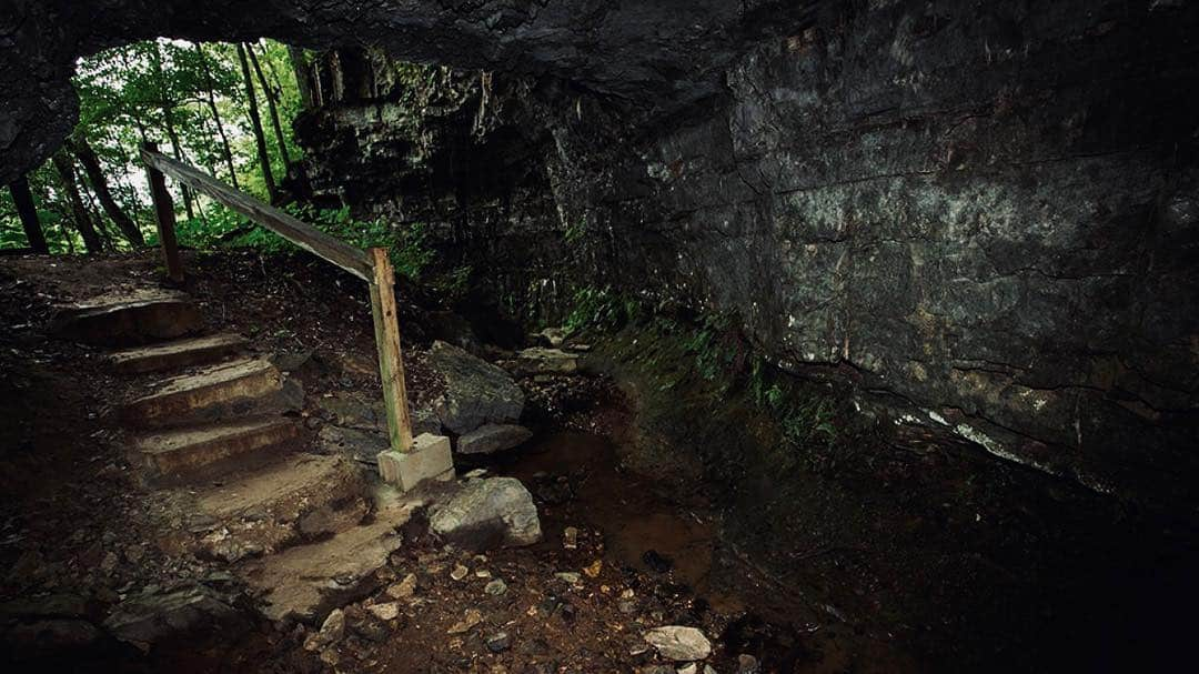 The Bell Witch Cave Adams