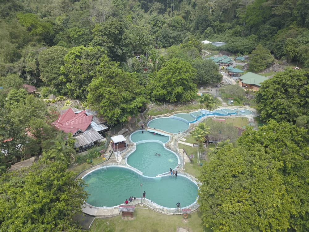Hot Springs Ranau