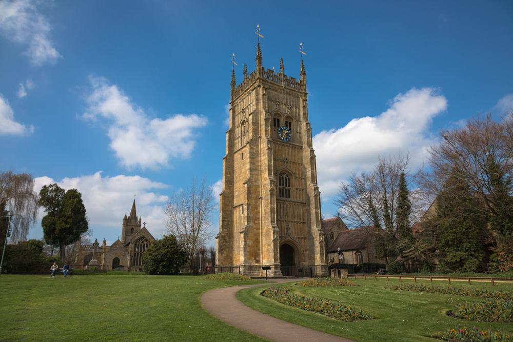 Evesham Abbey Tower