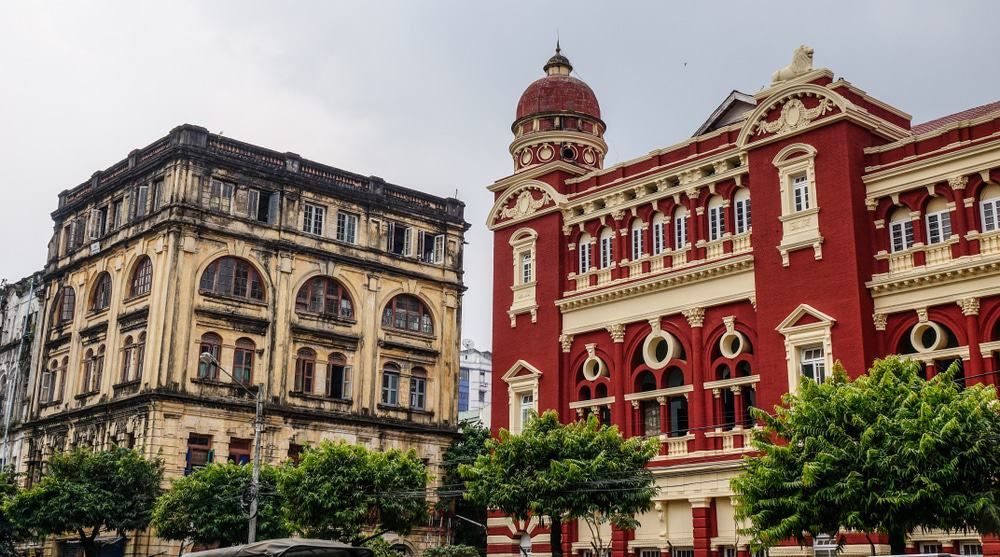 Colonial Architecture Yangon