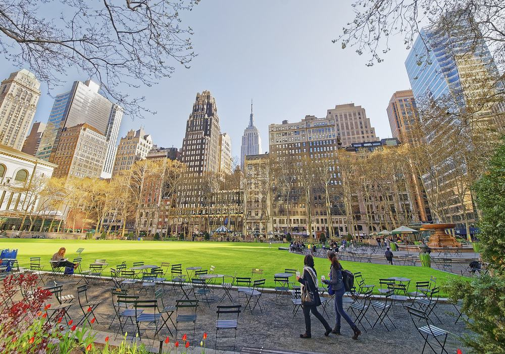 Bryant Park, Midtown Manhattan, New York
