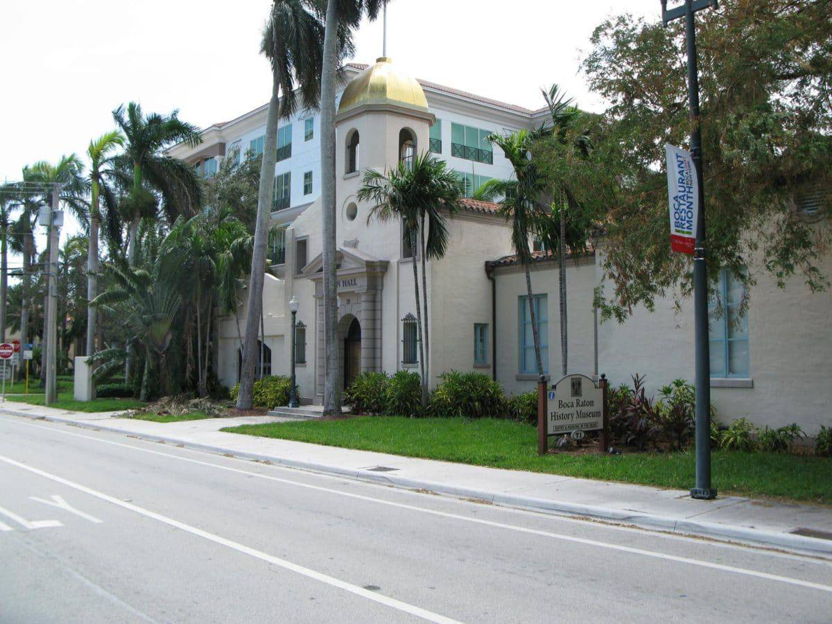 Boca Raton Historical Society And Museum