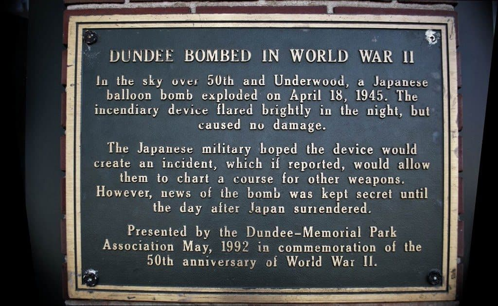 Dundee Plaque