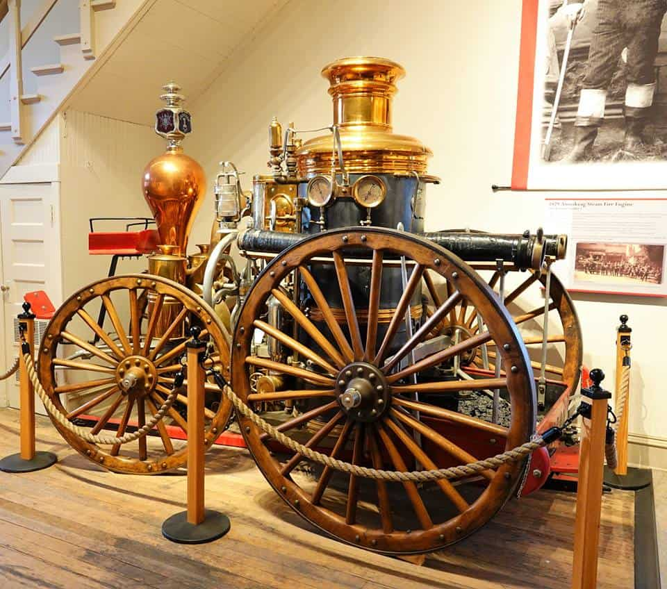 Fire Museum In City Hall, The Dalles