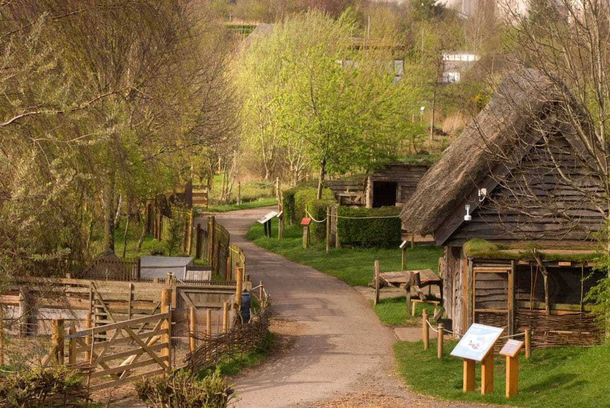 Jarrow Hall Anglo-Saxon Farm Village And Bede