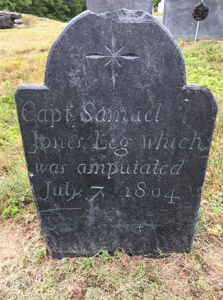 Leg Grave, Washington