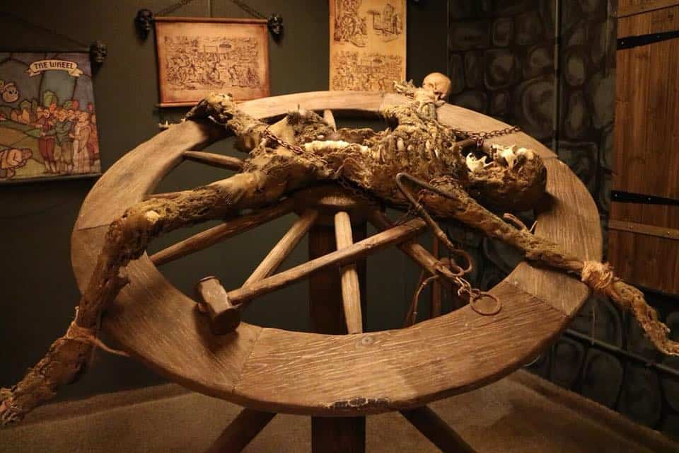 Medieval Torture Collection, St Augustine