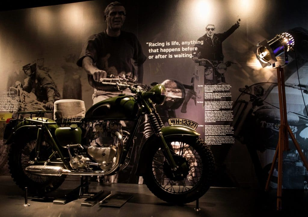 Triumph Motorcycles Visitor Experience