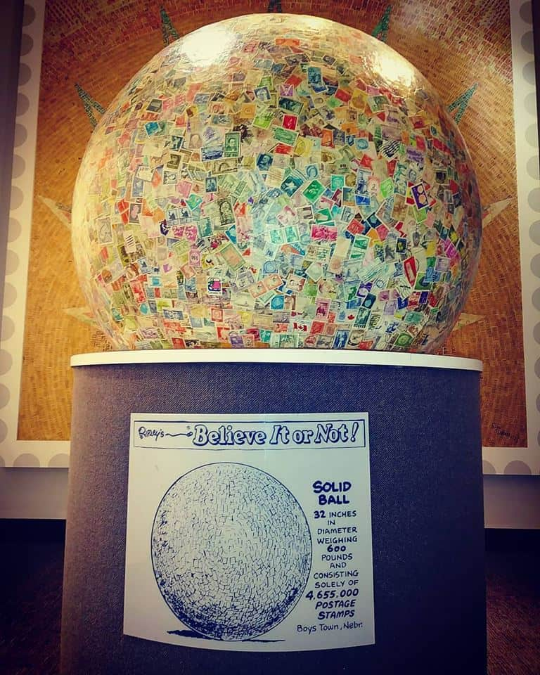 World's Largest Ball Of Stamps, Boys Town