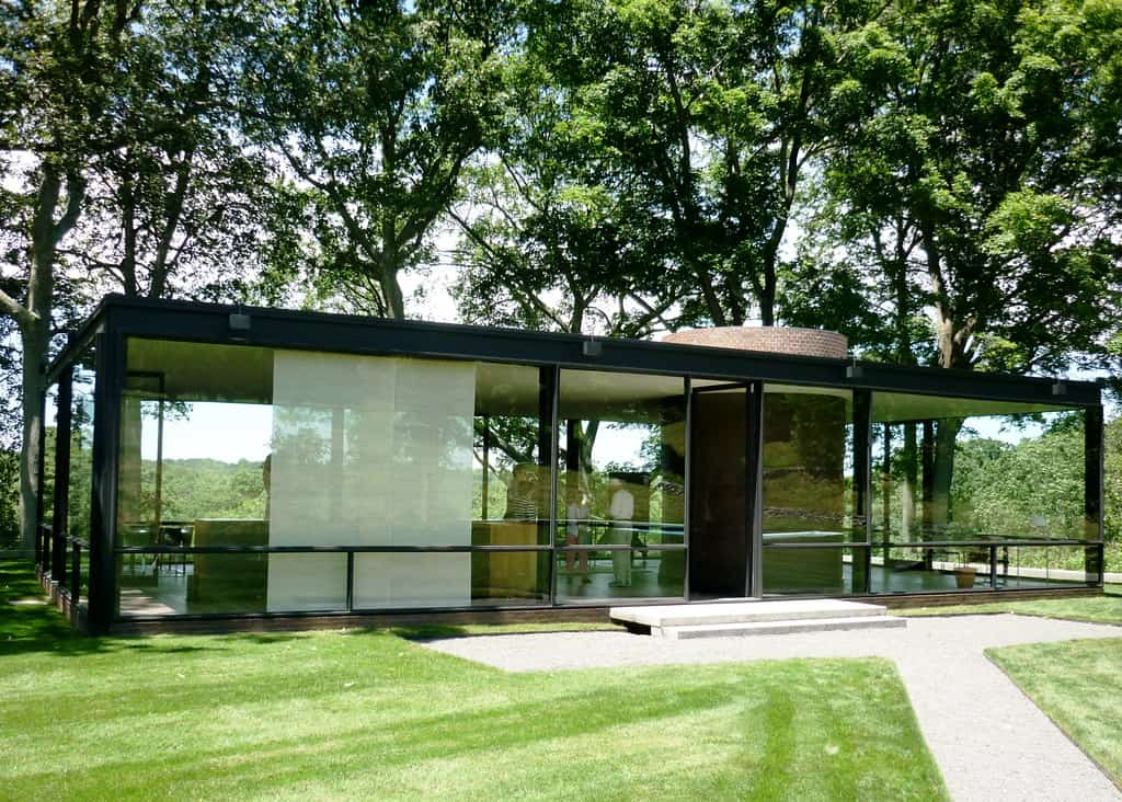 Glass House, New Canaan