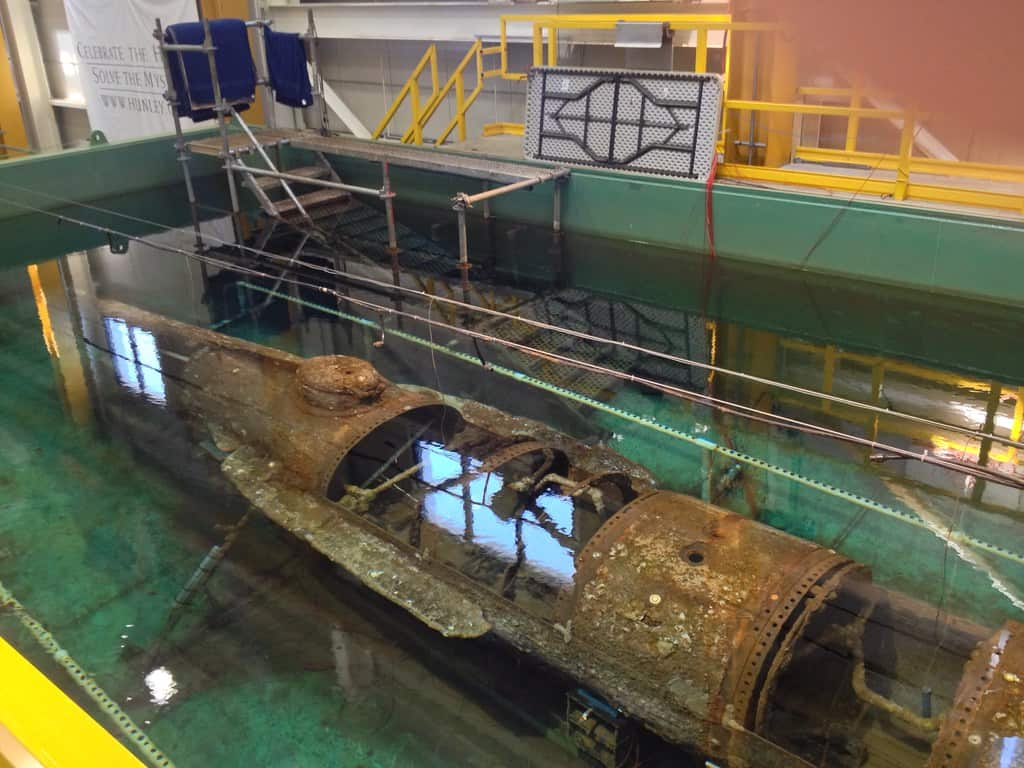 HL Hunley Submarine, North Charleston