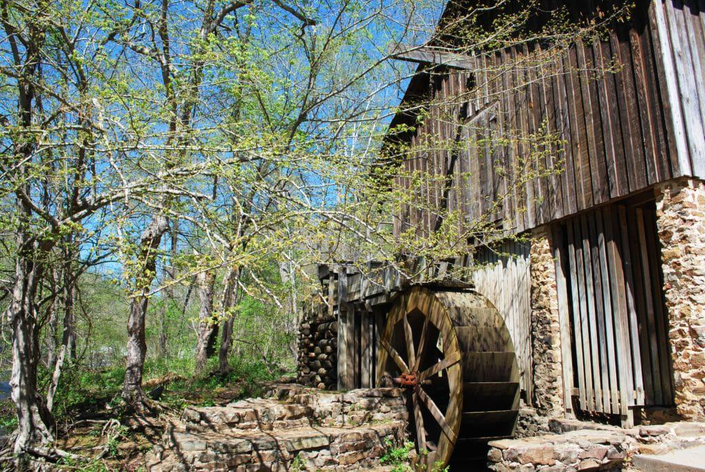 John Wesley Hall Grist Mill