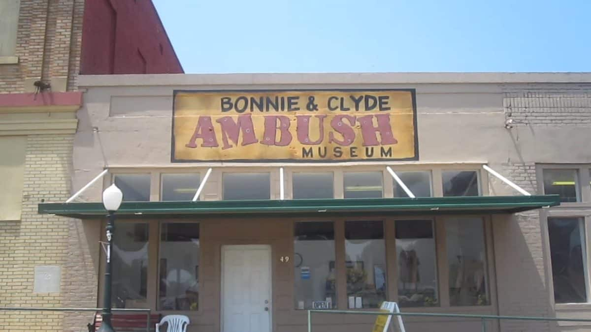 Bonnie and Clyde Ambush Museum, Gibsland