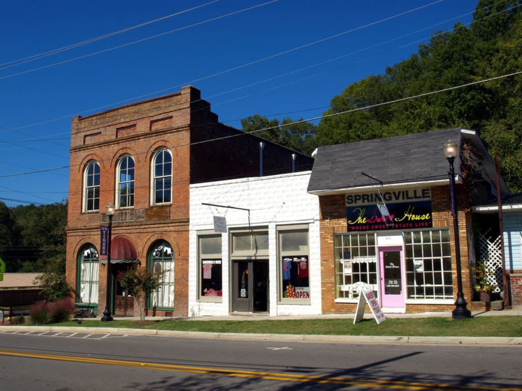 Springville Historic District, Alabama