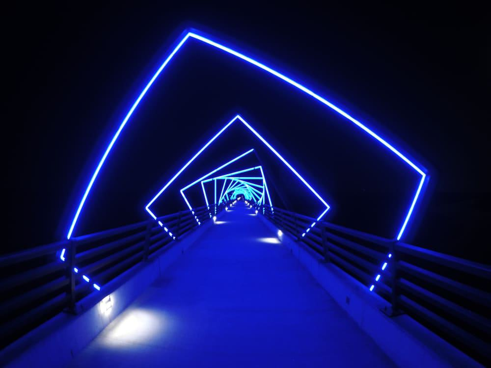 High Trestle Trail Bridge, Madrid