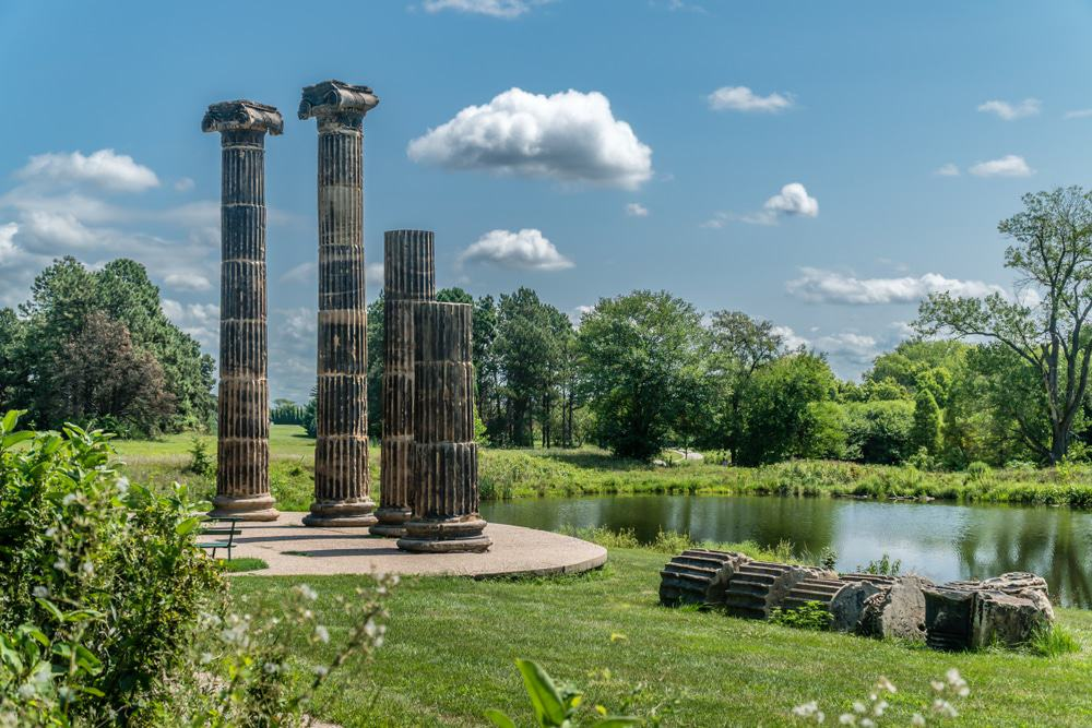 Pioneers Park Pillars, Lincoln