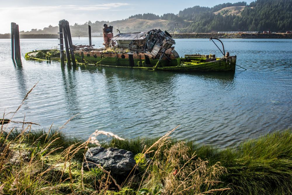 The Wreck of the Mary D. Hume, Gold Beach