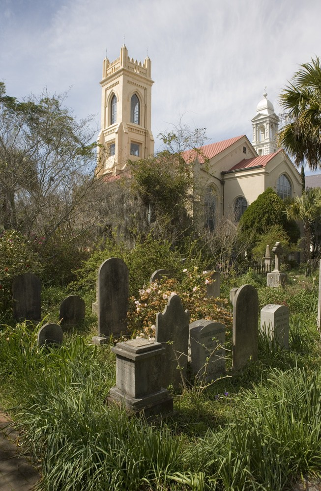 Unitarian Church Cemetery, Charleston