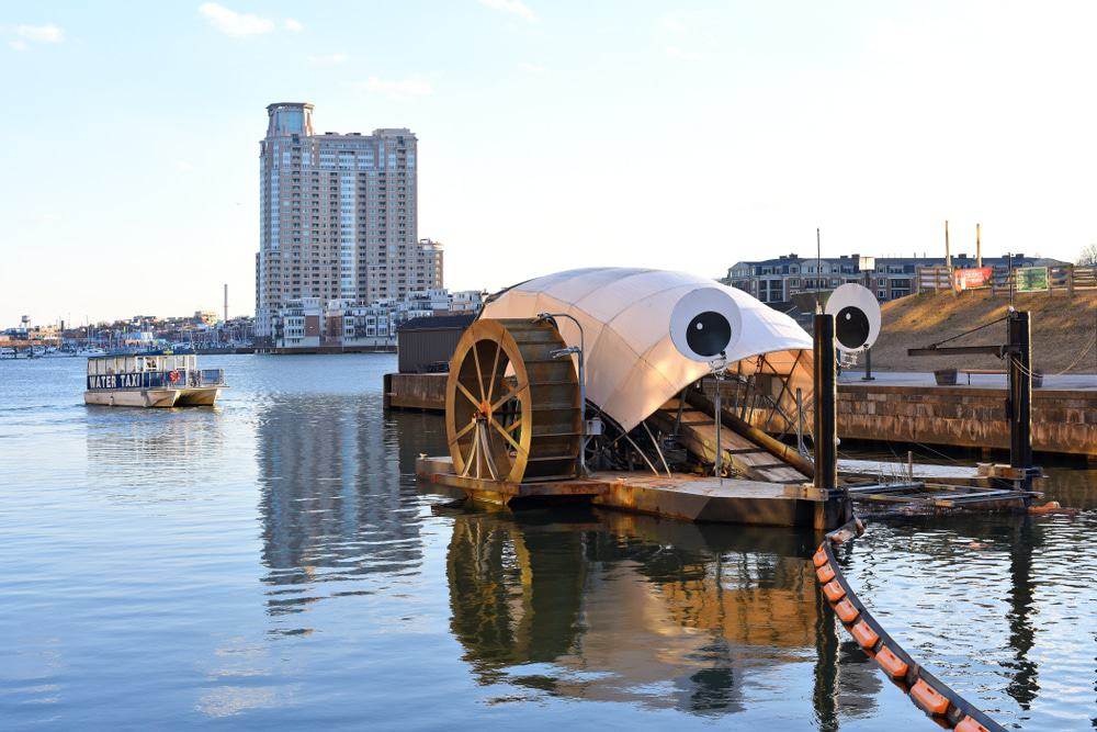 Mr. Trash Wheel, Baltimore