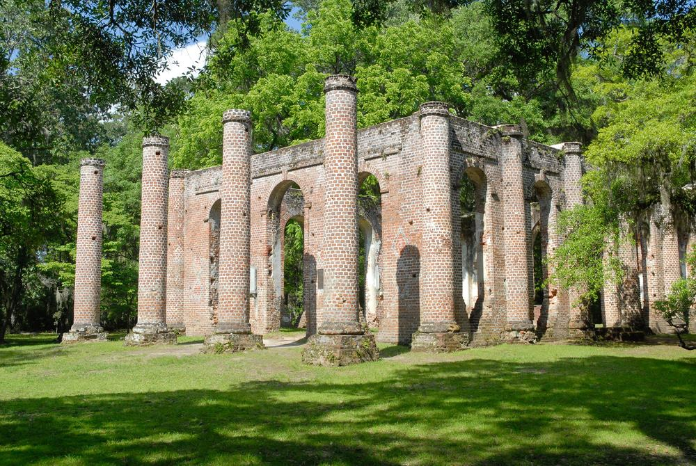 Old Sheldon Church Ruins, Yemassee