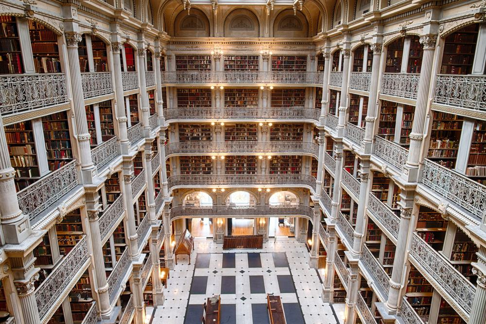 George Peabody Library, Baltimore