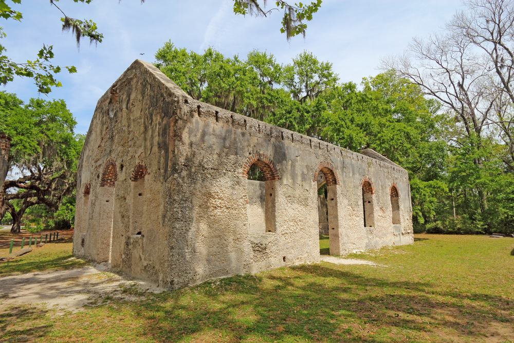St. Helena Parish Chapel of Ease Ruins, Saint Helena Island