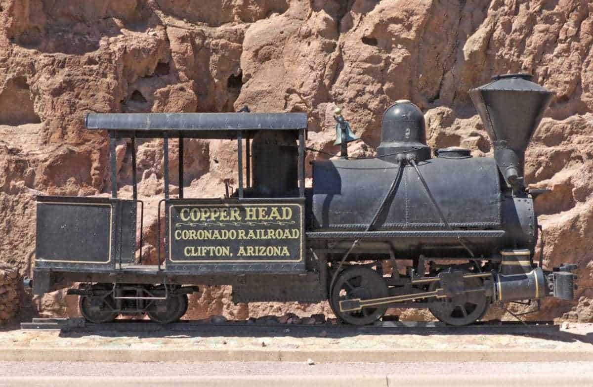 Old Copperhead Train