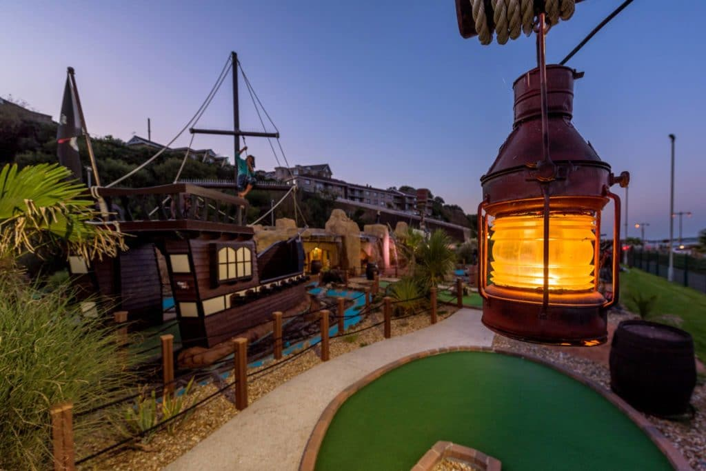 Pirates Cove & Jurassic Bay Adventure Golf
