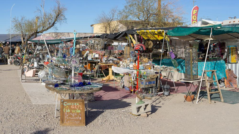 Quartzsite Annual Mineral Shows and Swap-meets