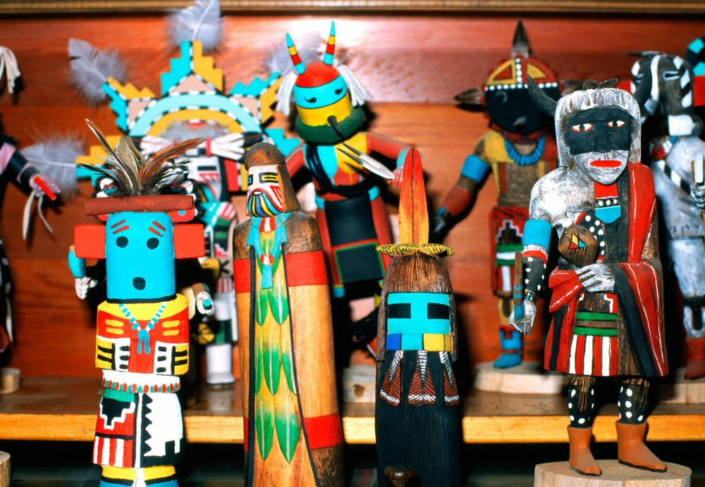 Hopi Reservation Kachina Dolls