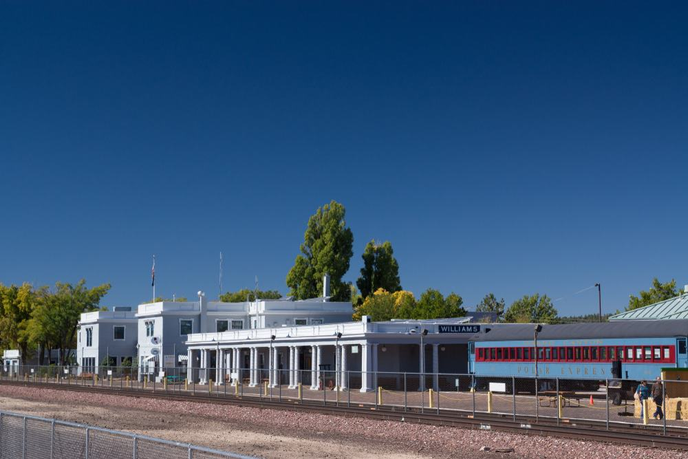 Williams Depot Train Station