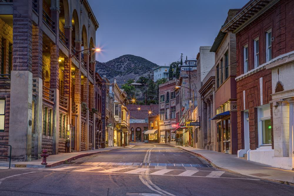 Bisbee At Night