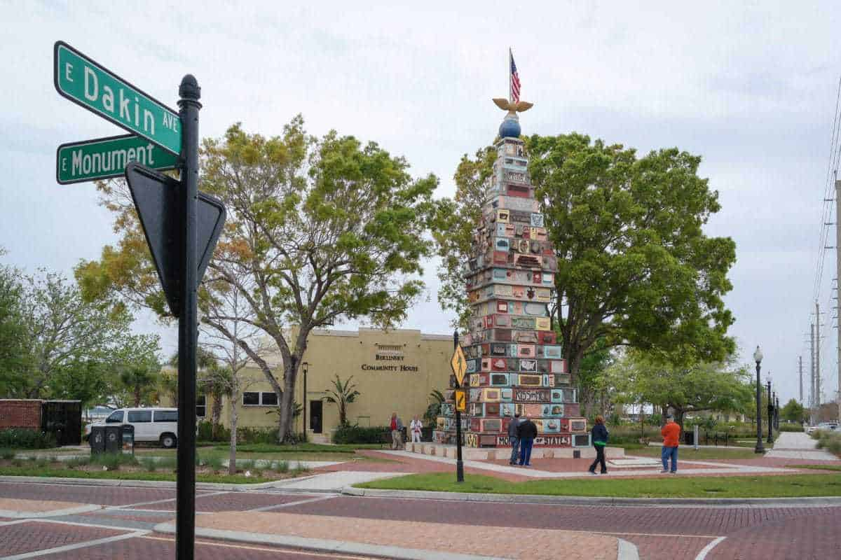 The Monument of States in Kissimmee