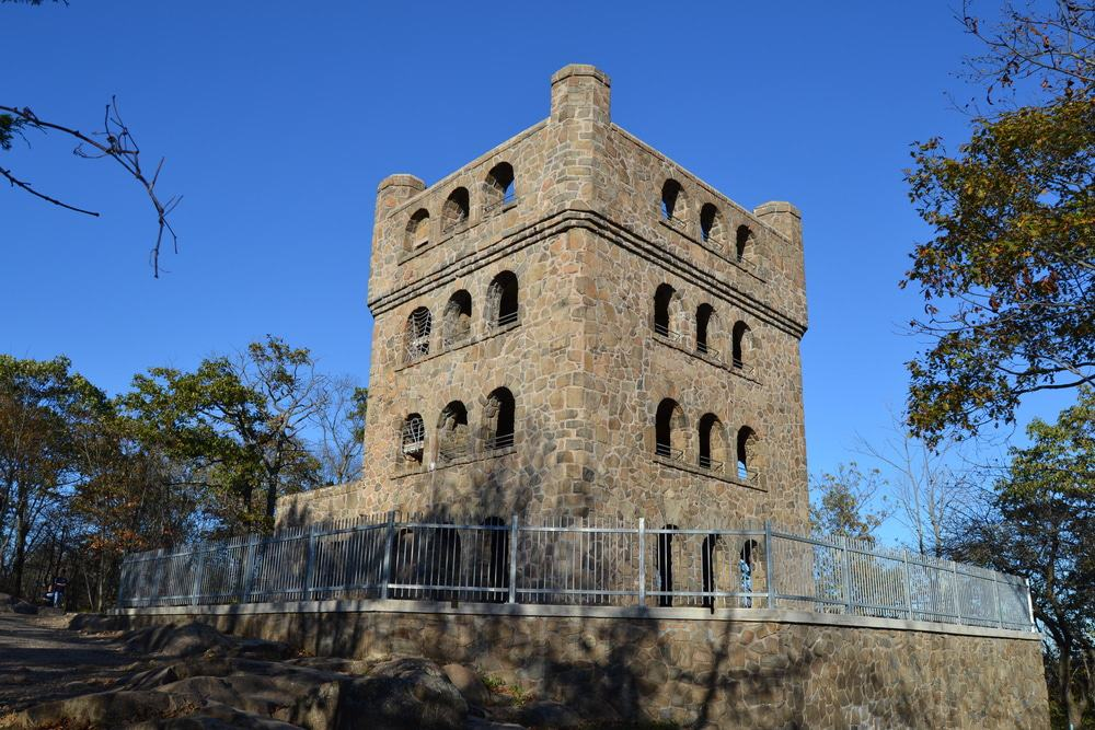 The Tower at Sleeping Giant State Park