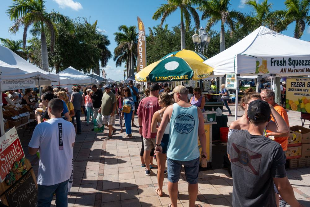 The Downtown Fort Pierce Farmers Market