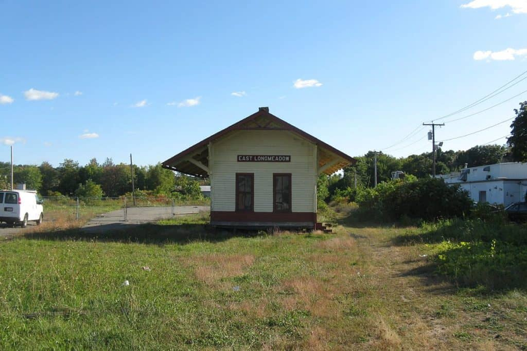 Old East Longmeadow Rail Station